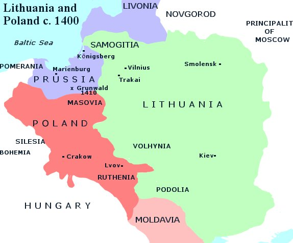 For centuries Lithuania and Poland have fought together for freedom