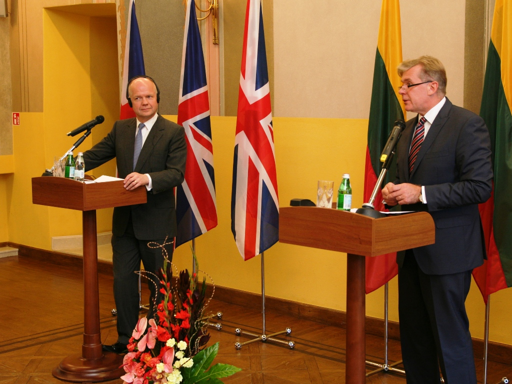 Lithuania suggests strengthening the Nordic bow cooperation