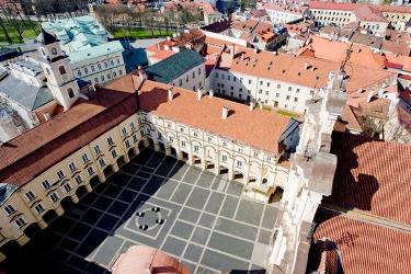 Vilnius University leading the university ranking