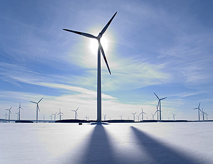 In 2013, Lithuania was leading in the wind energy production in Baltics
